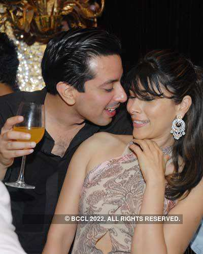 Rohit Bal's birthday party