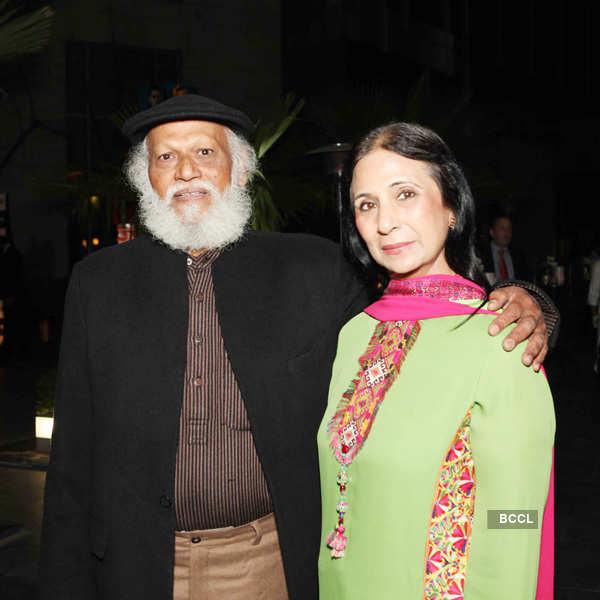 Paresh Maity's exhibition