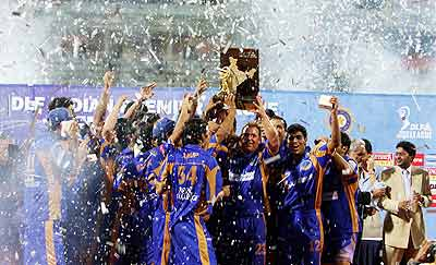 Rajasthan clinch IPL crown