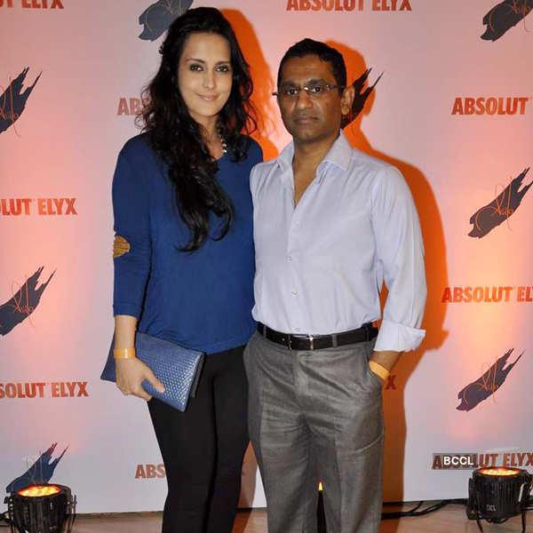 Suchitra's Absolut Elyx party