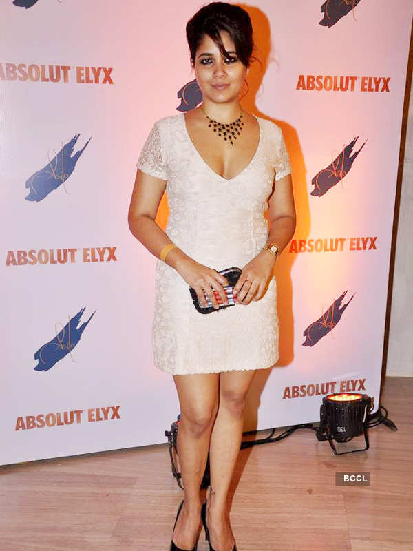 Suchitra's Absolut Elyx party