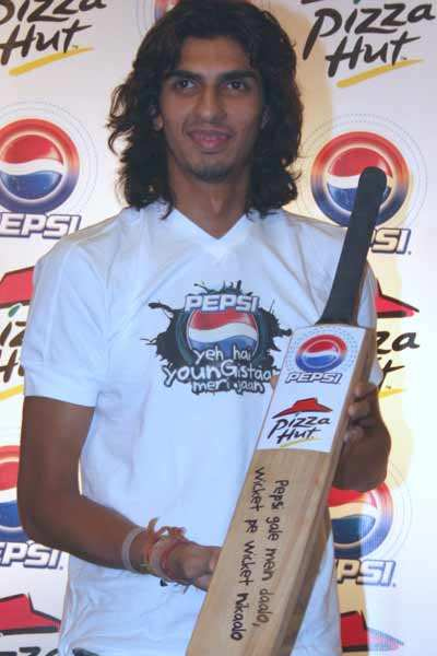 Ishant at a promotional event