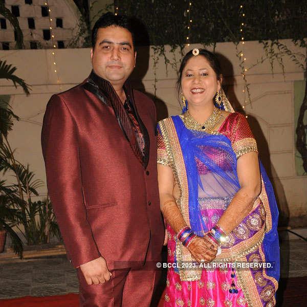 Dr Harsha, Ashish Sharma's wedding party