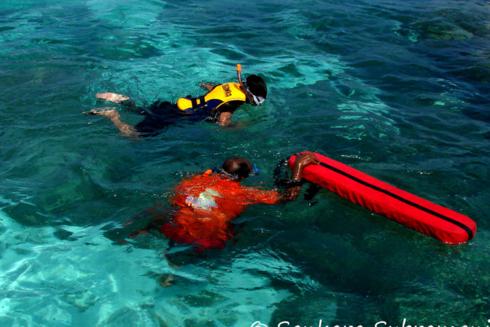 Snorkelling in Malvan