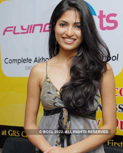 Parvathy at Flying Cats