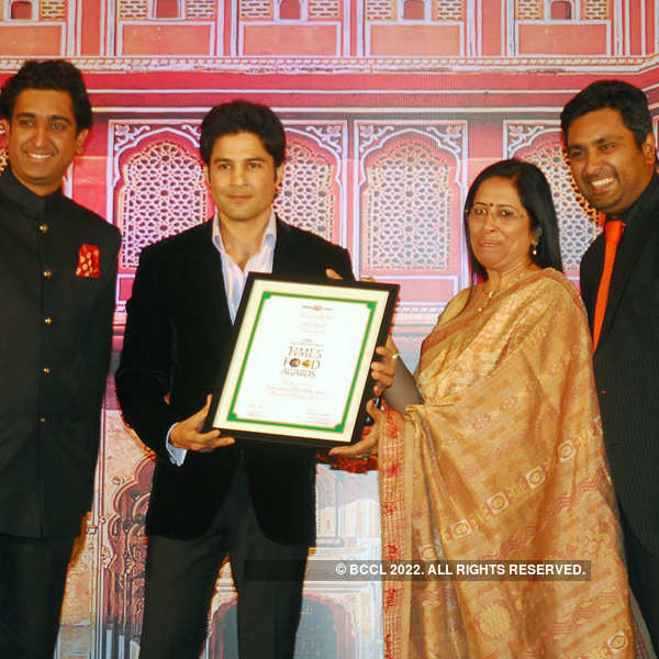 Times Food Guide Awards '14 - Jaipur: Winners