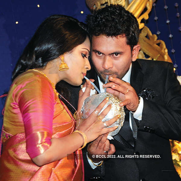 Augustina and Aju Varghese's wedding reception