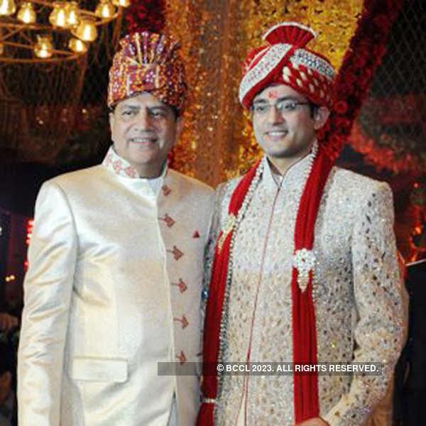 Ritik and Swapnil's wedding ceremony