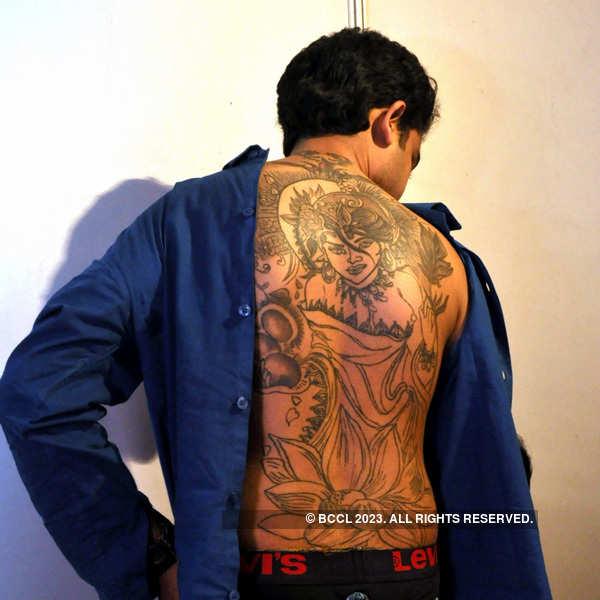 Tattoo expo for charity in Kolkata
