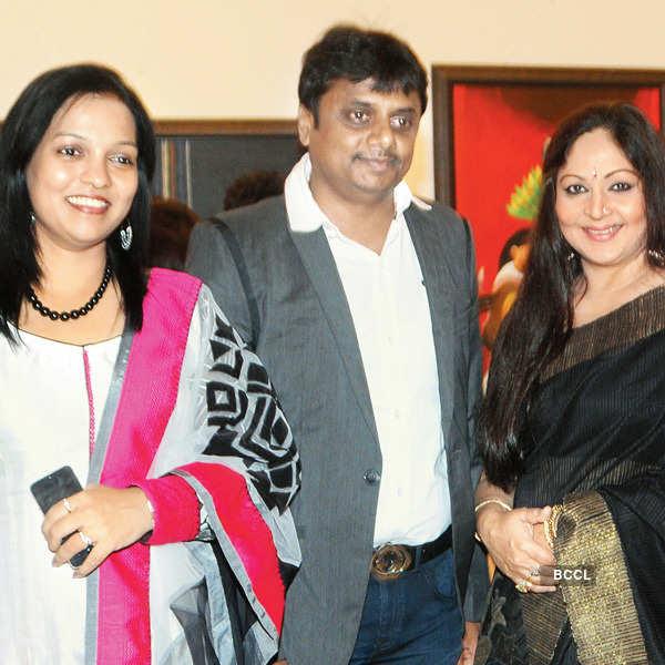 Raosaheb Gurav's painting exhibition