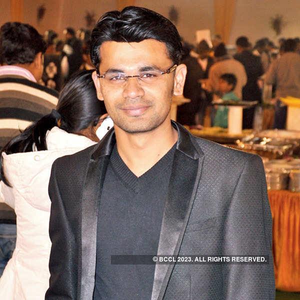 Akash Gaurav, Shubhkriti wedding party