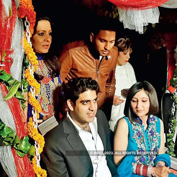 Zorawar and Akansha's wedding ceremony
