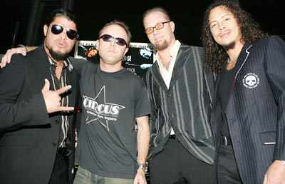 Metallica performs in Bangalore