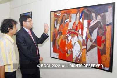 Painting exhibition by Wasim