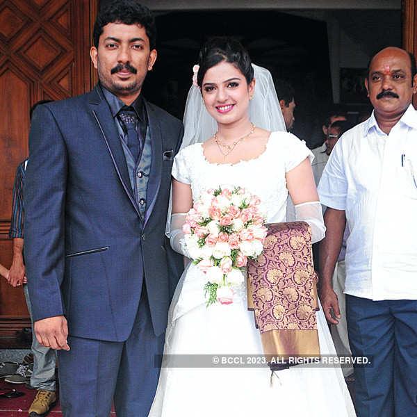 Leon K Thomas and Sarangi's wedding