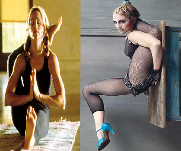 Madonna 50-year-old singer has the body of a 25-year-old