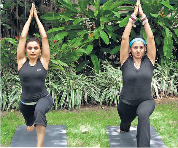 Rani Mukherjee believes in yoga