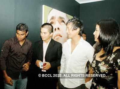 Riyas' art exhibition