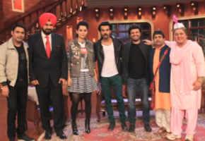 Kangana, Raj Kummar Rao promote 'Queen' at 'Comedy Nights With Kapil'