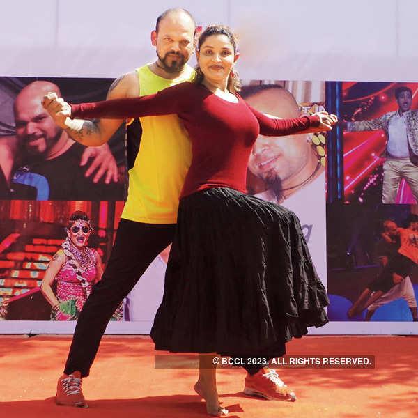 Dance workshop by Danny and Kunjan