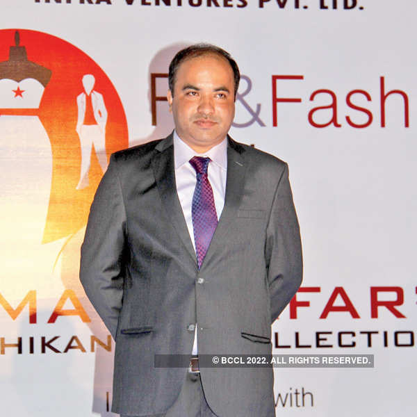 Umair Zafar's fashion show
