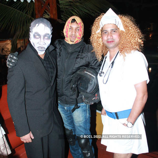 Carnival party in Goa