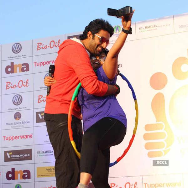 Abhishek Bachchan @ Marathon
