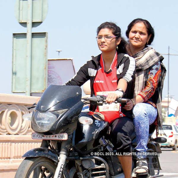 Lucknow babes turn Biker