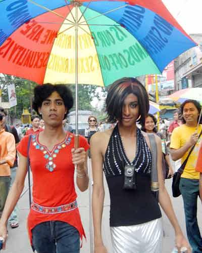 Bisexuals pride parade