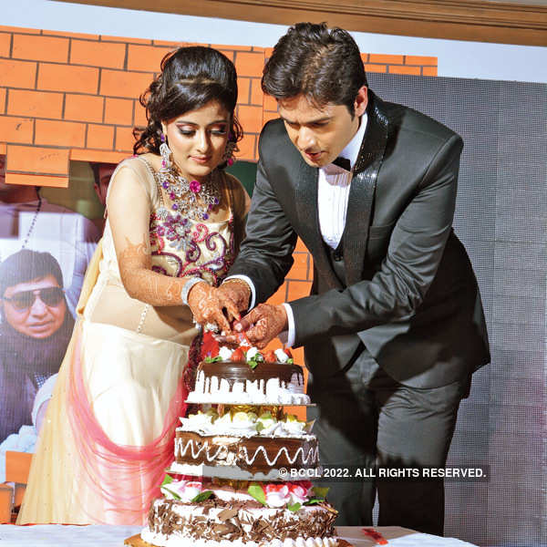 Himansh, Bhawna's ring ceremony in Indore