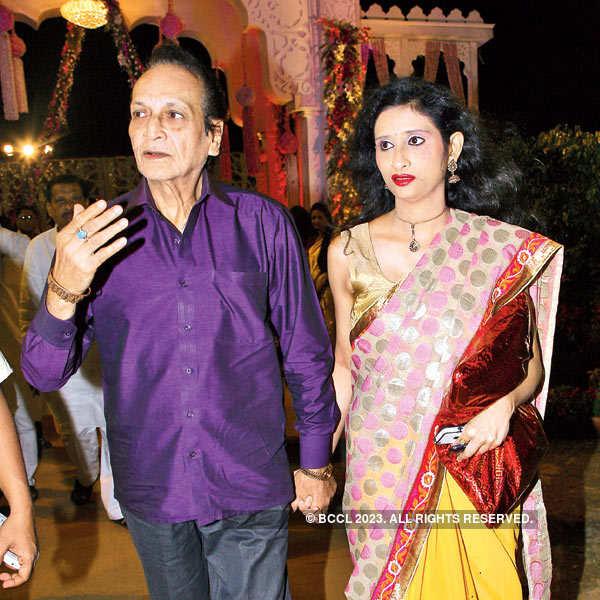 Swarup and Swati Mitra's wedding reception