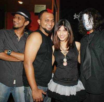 Shruti at Hard Rock Cafe