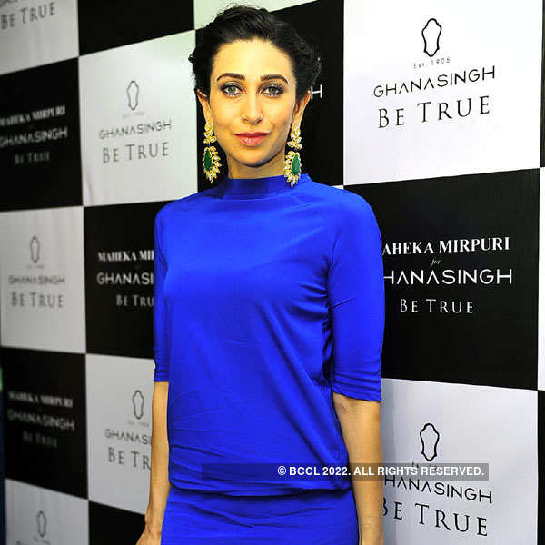 Karisma at jewellery store launch