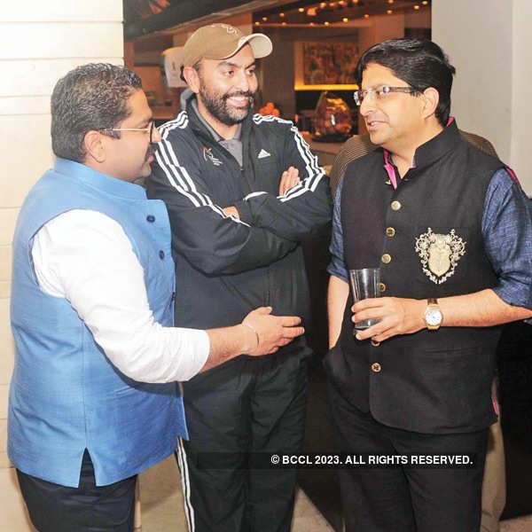 Indian Shotgun Open success party
