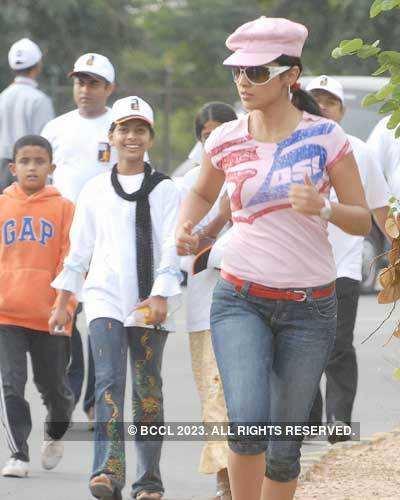 Road Run marathon