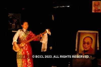Dalai Lama's b'day show