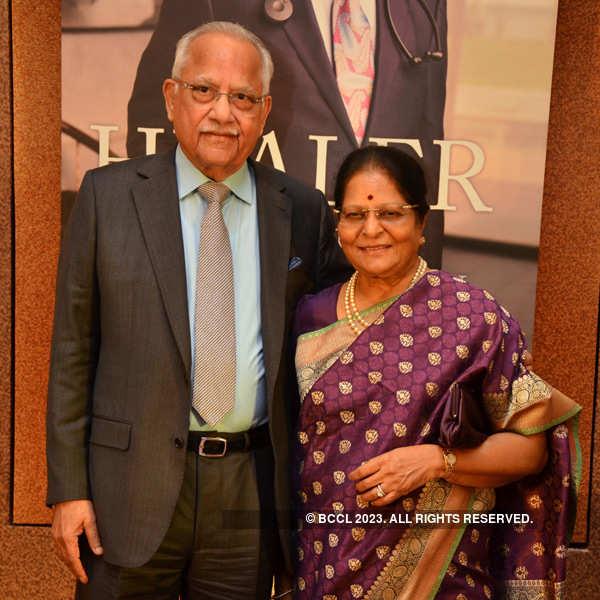 Dr Prathap Chandra Reddy's book launch