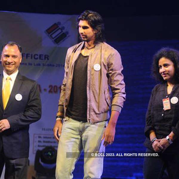 Ishant Sharma @ Voter awareness event