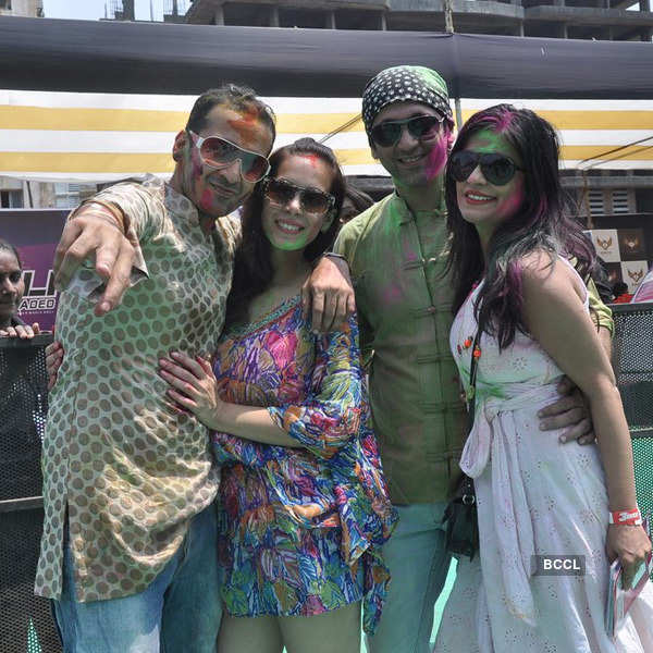 Holi Reloaded party 2014