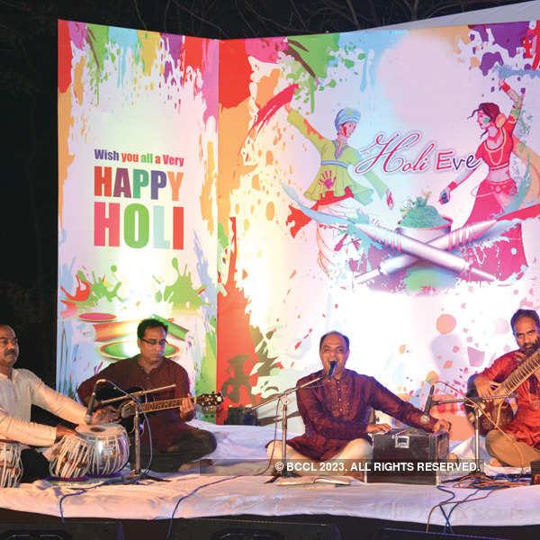 Holi celebration @ Gondwana Club
