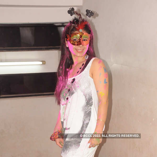 Holi Milan do by ICAI