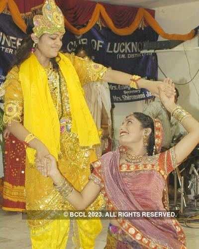 Rotary club's Krishna Leela