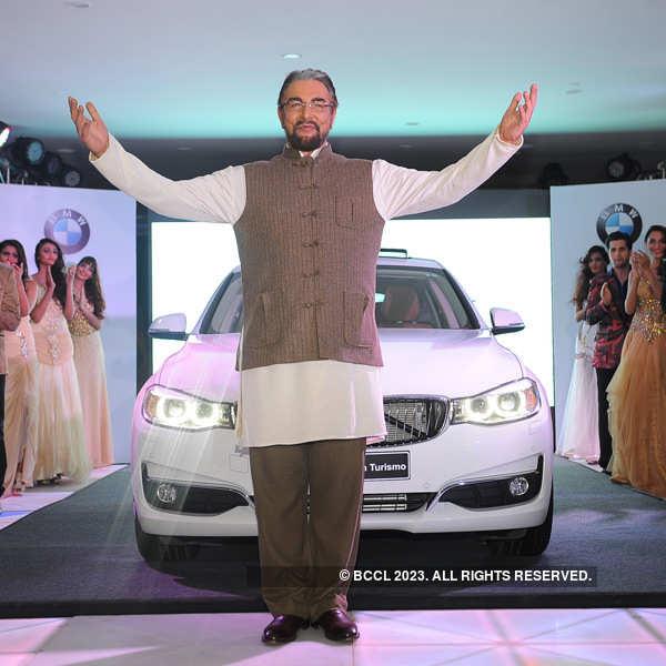 BMW 3 series Gran Turismo fashion show