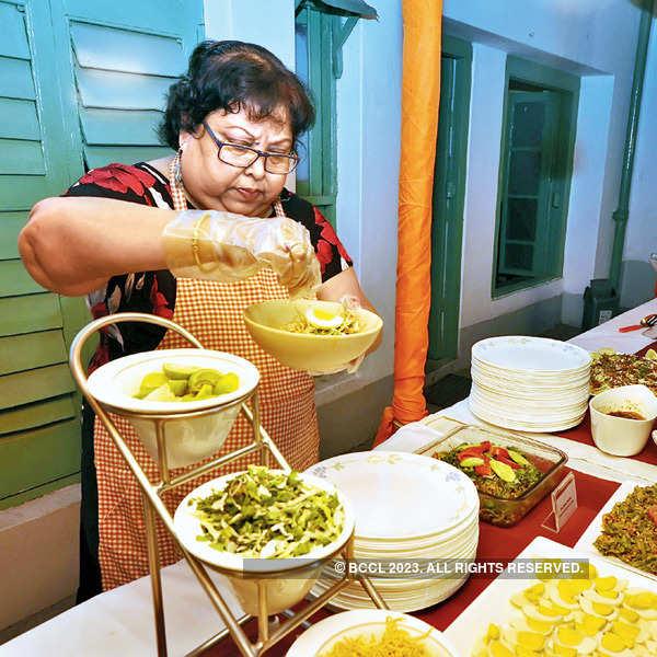 Celebs at Burmese food festival