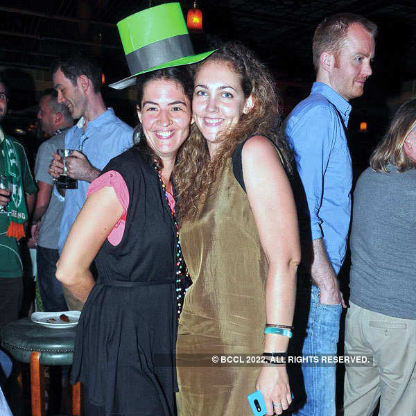Party to celebrate St.Patrick's Day