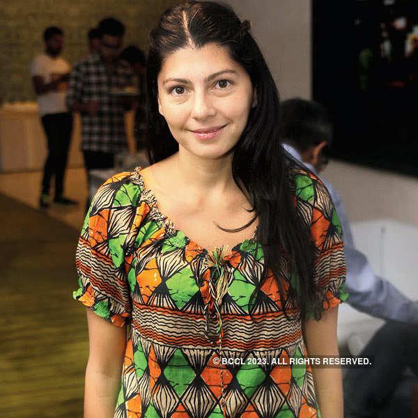 Pre-fashion show event in Delhi