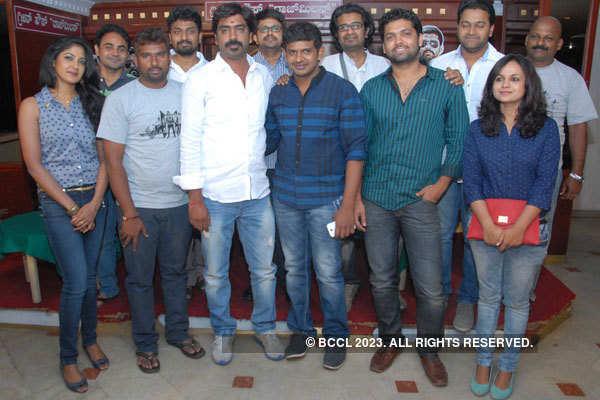 Ulidavaru Kandante stars meet the press in Bangalore