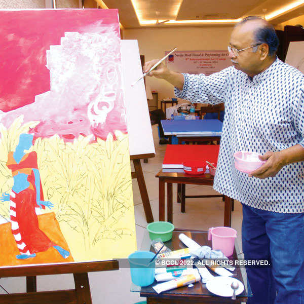 Jaipur's artists got arty-culate