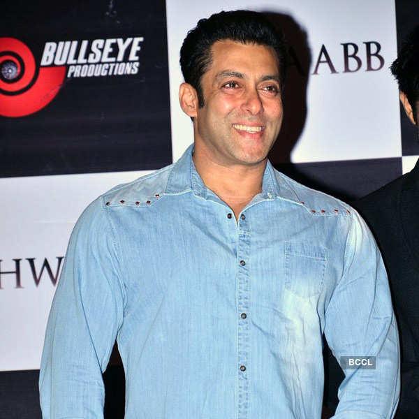 Salman at Khwaabb music launch
