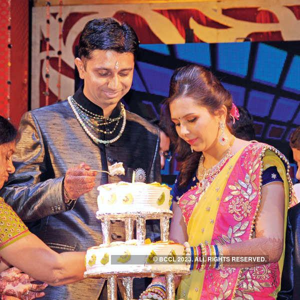 Arpit, Harshana Jain's sangeet ceremony